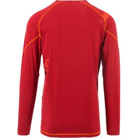La Sportiva Future Long Sleeve Shirt Herre chili